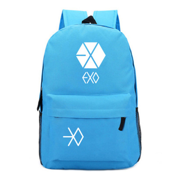 2019 Kpop Shouting Multi-function USB Charging Backpack Student Bag Leisure Travel Backpack Casual Unisex