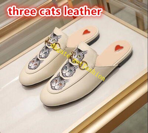 cuir de trois chats