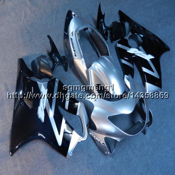 23colors+Botls Injection mold silver black motorcycle cowl For Honda 00 CBR600F4 1999-2000 F4 99 00 CBR 600 ABS motor Fairing