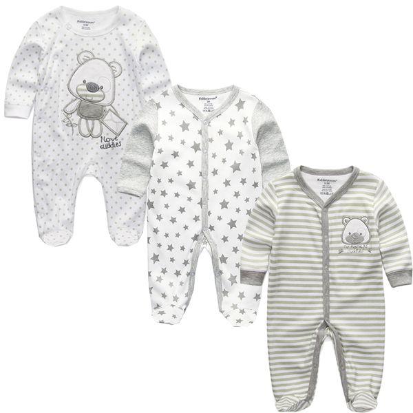 Girl Clothes Ropa Bebe Full Sleeve Boy Infantil Costume Newborn Body Baby Romper Clothing Kid Toddler Pajamas Vestidos Q190520