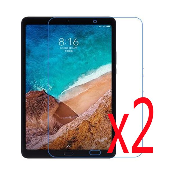 """2pcs Matted Anti-Glare Screen Protector Films Matte Protective Film Guards For Xiaomi Mi Pad 4 MiPad 4 Plus 10.1"""" inch Tablet"""