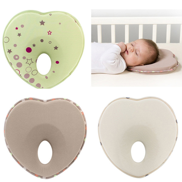 best selling Infant head support kids shaped rest sleep anti roll cushion nursing baby pillow to prevent flat