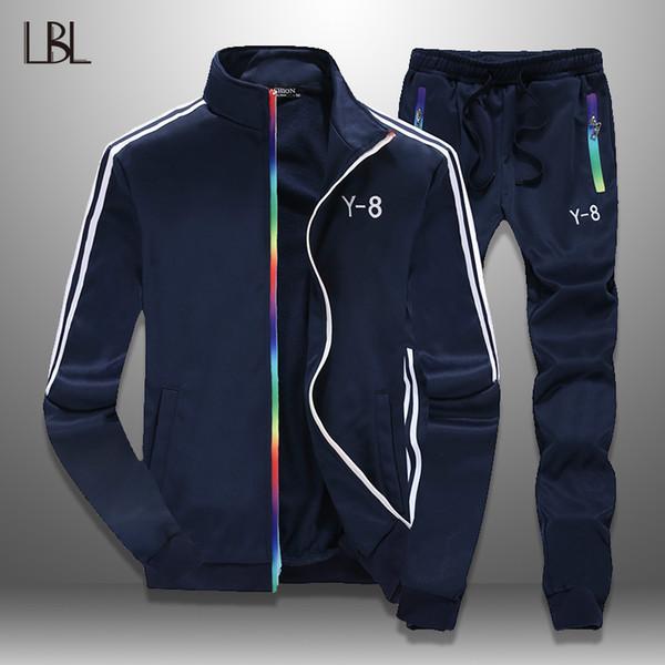 LBL Fashion Jacket Men Tracksuit Autumn 2018 Streetwear Mens Coat Slim Outwear Overcoat Male Jaquetas Masculina Brand Clothing