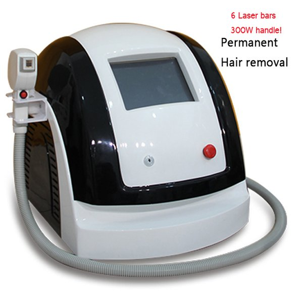 Professionelle Enthaarungslaser 808 / tragbare Laserdiode 808 Haarentfernung / 808nm Diodenlaser Kosmetiksalon