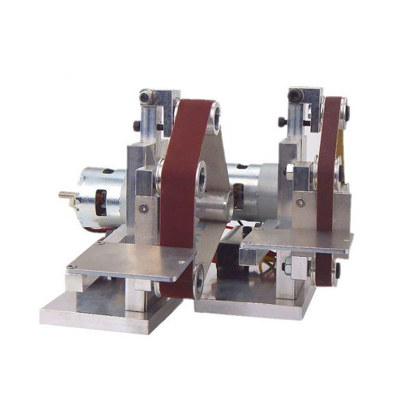 best selling Small Mini Belt Machine DIY Polishing Machine Grinding fixed Angle Sharpening Blade Belt