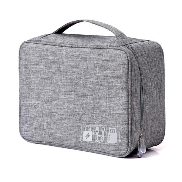 New Digital Storage Bag Data Cable Charger Storage Bag Gadgets Equipment Management Travel Bags Travel