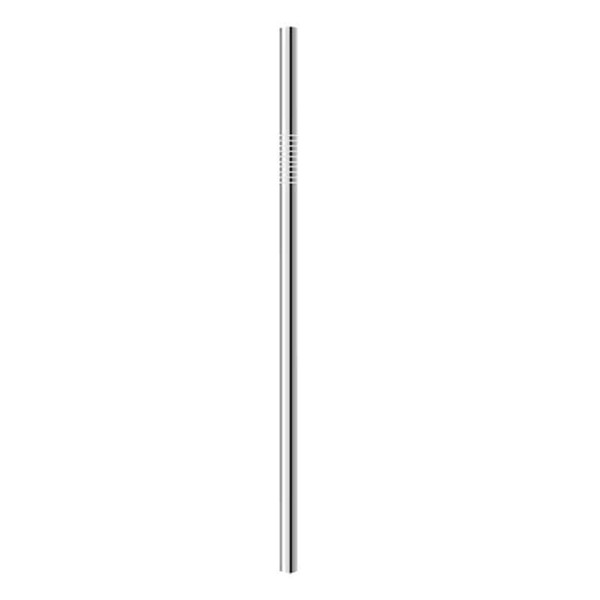 1pcs stainless steel Straw(6*215mm)