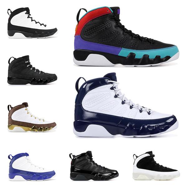 Yeni DREAM IT IT 9 9 s erkekler için basketbol ayakkabı UNC BRED uzay reçel OREGON DUCKS HEYKELI erkek moda spor sneakers