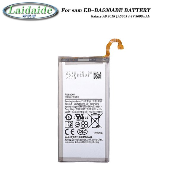 EB-BA530ABE Battery li-ion for Samsung Galaxy Galaxy A8 2018 A530 A530F SM-A530F batteries Mobile phone built-in replacement battery