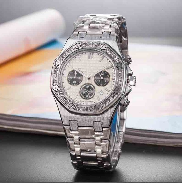 mens automatic mechanical watches womens classic style full stainless steel strap high quality wristwatches sapphire Watch AA044