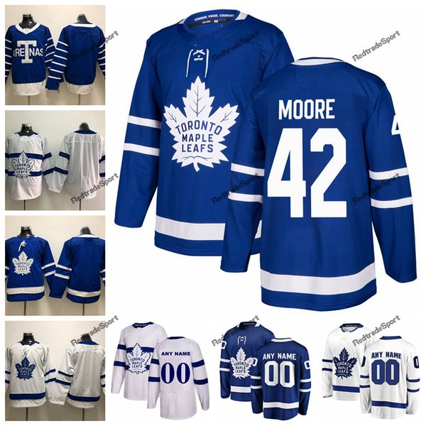 the best attitude 7fc20 8380a 2019 2018 Stadium Series Toronto Maple Leafs Trevor Moore Hockey Jerseys  Custom Vintage Toronto Arenas 42 Trevor Moore Stitched Shirts From ...