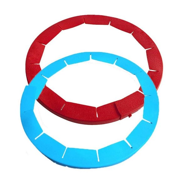 Silicone Baking Mould Red Cake Pans Blue Pie Crust Shield Easy To Clean High Temperature Resistance Pizza Ring 9akb1