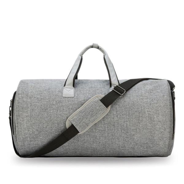 2019 Multifunktions-Männer Reise-Düffel-Beutel-Mann-Beutel-bewegliche Reisetaschen für Mann-große Kapazitäts-Schultertasche für Anzug Schuhe