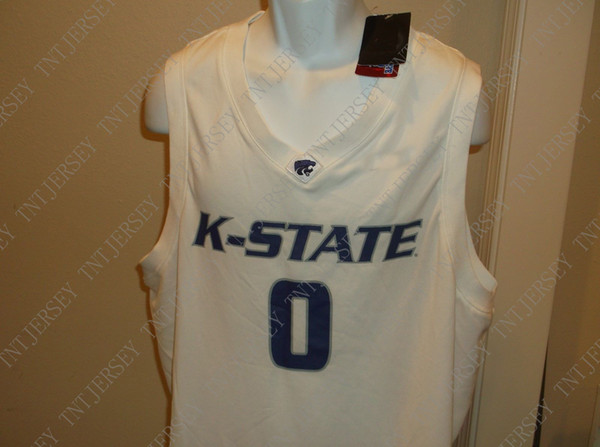 Cheap custom Kansas State Wildcats Basketball Jersey Stitched Customize any number name MEN WOMEN YOUTH XS-5XL