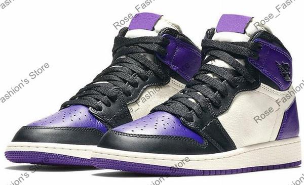 1s black court purple
