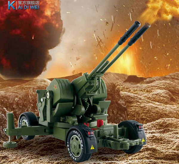 Alloy Car Model Toy, Military Rocket Truck, Antiaircraft Gun, Cannon, High Simulation, for Kid' Birthday' Party Gift, Collecting, Decoration