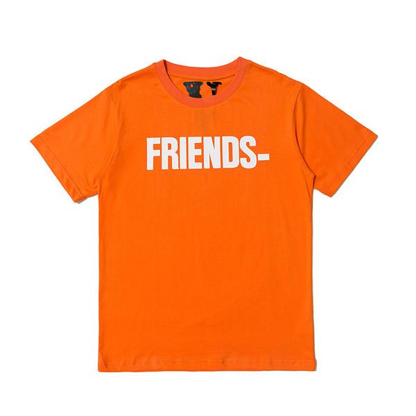 designer hommes femmes t shirt orange clair été luxe t-shirt de marque marques designer hommes femmes chemises marque manches courtes rondes