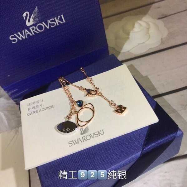 Women's jewelry 2019 fashion new devil's eye necklace of high quality sterling silver material plating thick gold to create