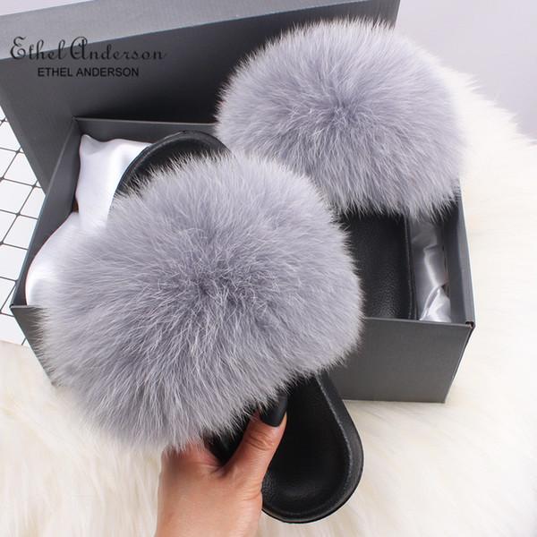 Light Grey Fox Fur