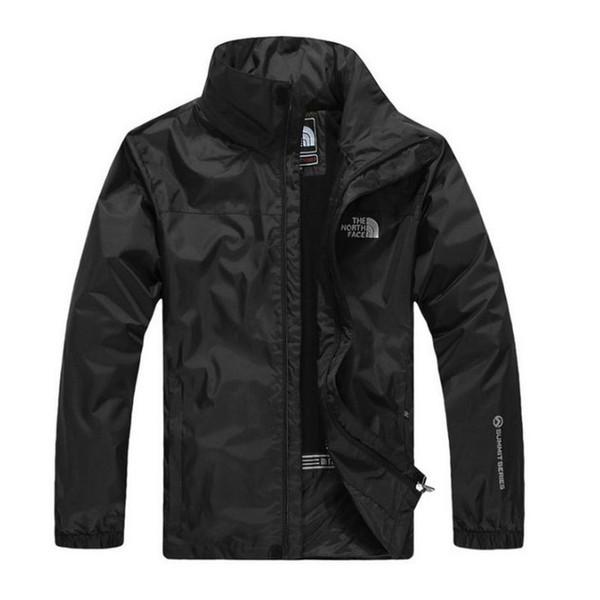 Fashion Face North Men's Outdoor Jacket Autumn Sport Men's Windbreaker Zipper Windbreaker Coats Men Fashion Hooded Jackets 3 Colors