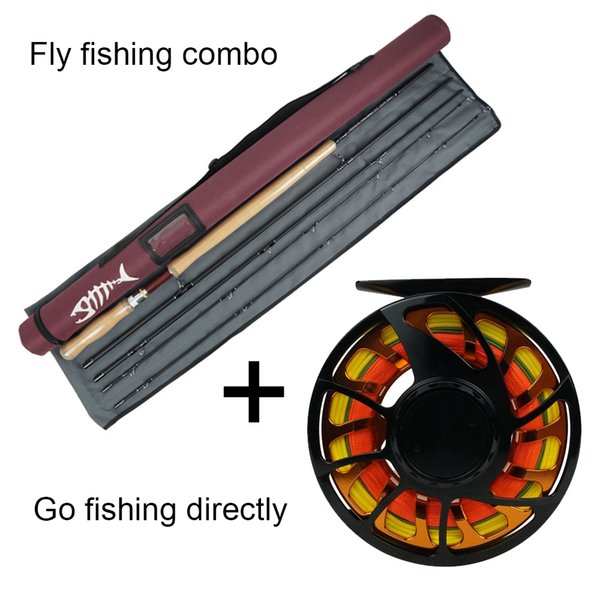 top popular NEW Aventik All Times IM12 Carbon Fiber Short Switch Rods And Fishing Rod Combo With Line Backing Line Sets 2021