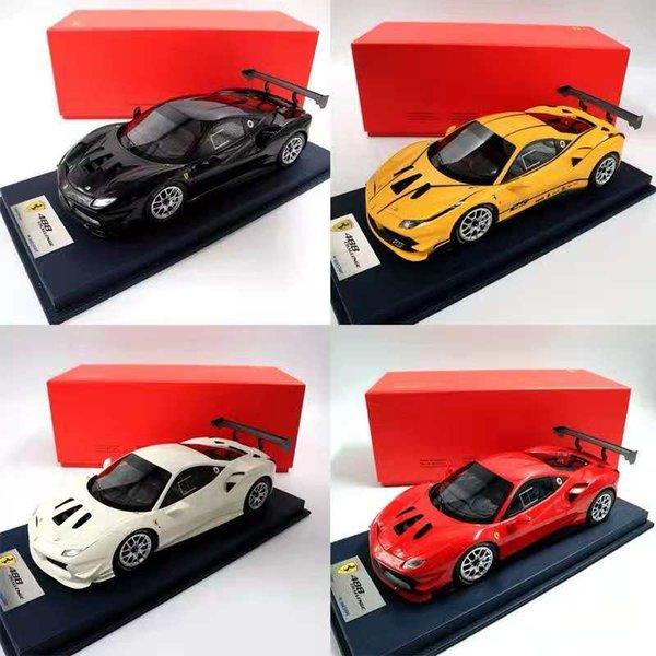 1:18 Look Smart FERR~I 488 Challenge Italian Design Resin Handmade Models Toys Car Christmas Gifts