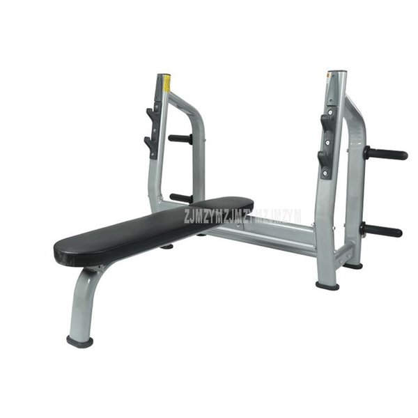Weight Training Bench With Barbell Shelf Rack 3mm Steel Home Gym Workout Weight Barbell Lifting Training Fitness Exercise Bench