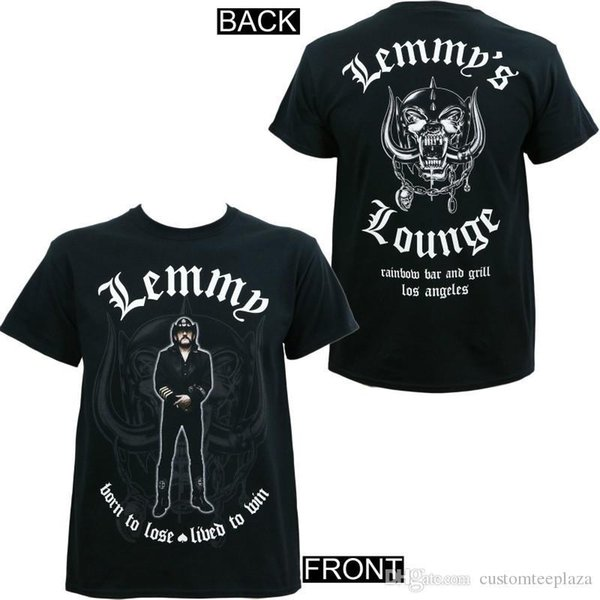 Authentique Statue Lemmy Memorial T-shirt Lounge Lemmy S M L XL 2XL Nouveau Tee Shirt Homme Camiseta Basquete Blanc Man