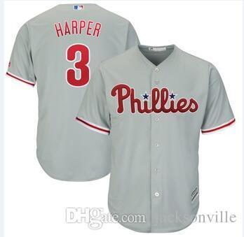 Филадельфия Брайс Харпер Филлис Джерси трикотажные изделия бейсбола изготовленные на заказ бланк домашний официальный крутой флекс Все сшитый трикотаж Стив Карлтон мужские 4xl