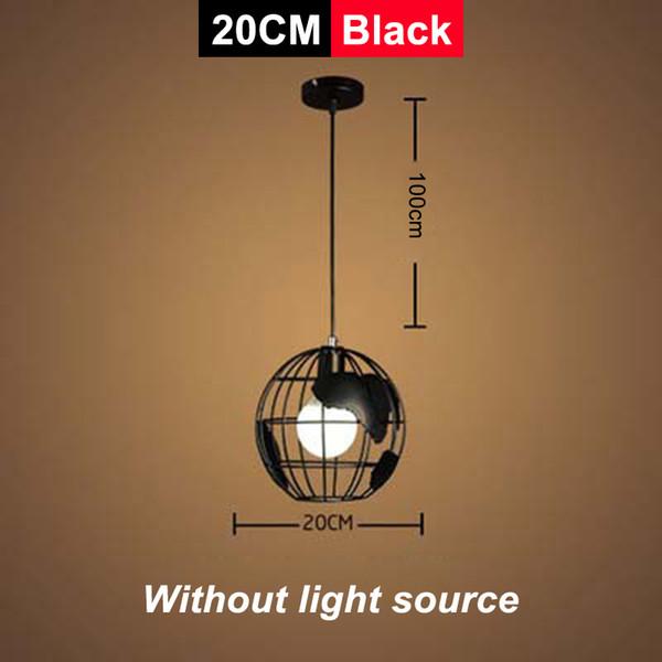 Siyah / 20cm