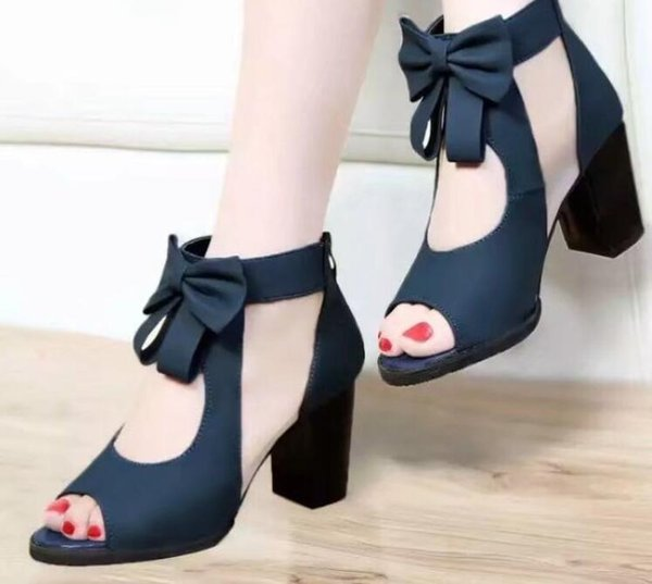 Elegant woman shoes fashion high heel hot seller new style women shoes