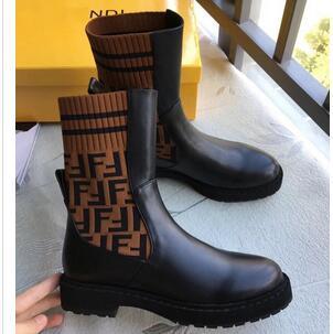 2019 Fashion Luxury DesignerWomen Boots Ladies Ankle Boots Superstar Women Autumn Winter High-Heel Short Boots