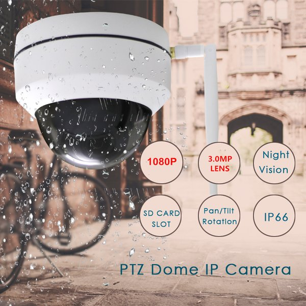 MINI 1080P PTZ IP Camera Outdoor Speed Dome Wireless Wifi Security Camera Pan Tilt IR Network CCTV Surveillance CAMERA
