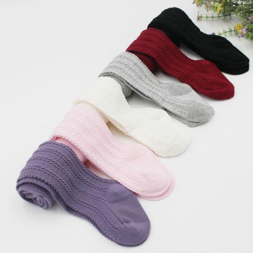 Pudcoco New Brand Baby Children Toddlers Kids Knee High Socks Tights Hosiery Warm Stockings New
