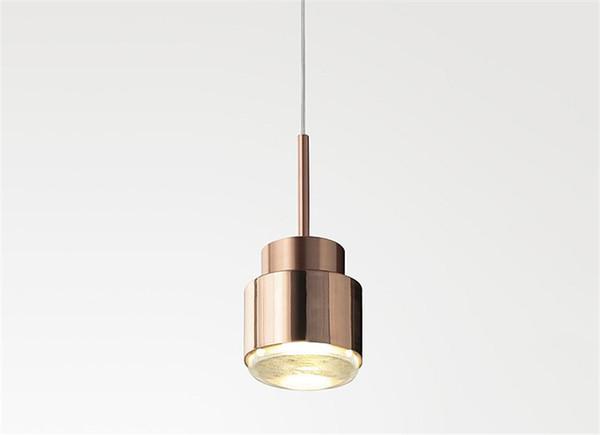 Moderne gold metall pendelleuchte messing hängen pendelleuchte für wohnzimmer cafe restaurant bar hause beleuchtung