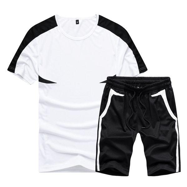 Мужские дизайнерские спортивные костюмы Свободный спортивный костюм с короткими рукавами Футболки Шорты Летний костюм Шорты Мода Высокое качество Размер EUR