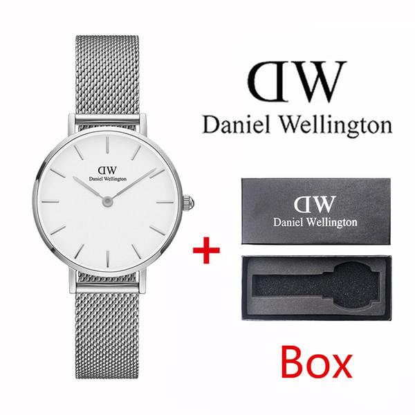 Daniel Wellington Relojes de moda para hombre y mujer 2019 Ropa de hombre y mujer ultrafina 40 mm Moda Negocio Pareja Regalo Quar