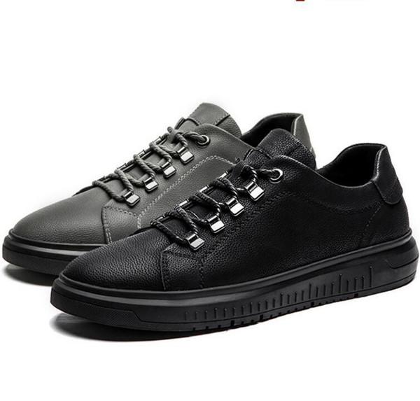 scarpe casual in pelle da uomo di dimensioni grandi NUOVI 37 di grandi dimensioni in più 47 transfrontaliera per scarpe da uomo scarpe basse progettista F2.1