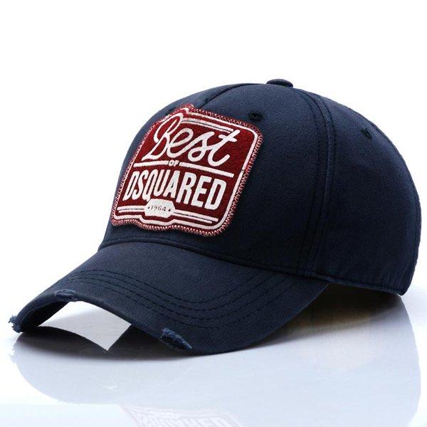 D1 on sale ICON baseball caps hats brand icon Cotton Embroidery for men 6 panel Black snapback hat men casual visor gorras bone casque