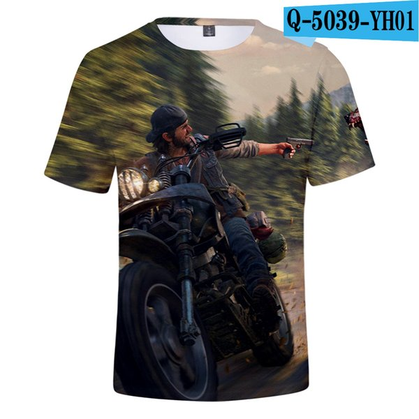 Fashion 3D t shirt Sandbox Game Days Gone 2019 Men Women Summer Men's T shirt Leisure Printed Days Gone 3D T-shirt
