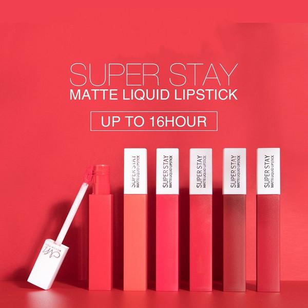 MENOW Marke 12 Farben Matte Lipgloss Frauen Lippen Maquiagem Matte Lipgloss Bilden Lipgloss Mate Batom Lip Stick