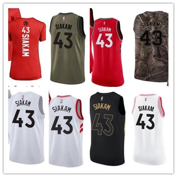 the best attitude 6b7a9 dc61d 2019 Custom 2019 Toronto Raptor Jerseys #43 Pascal Siakam Jerseys  Men#WOMEN#YOUTH#Men'S Baseball Jersey Majestic Basketball Jersey From  Best_baseball, ...