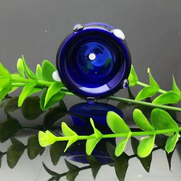 Nuova testa ruota dei colori, all'ingrosso Bongs Oil Burner Pipe bicchiere d'acqua tubo di olio rig fumatori spedizione gratuita