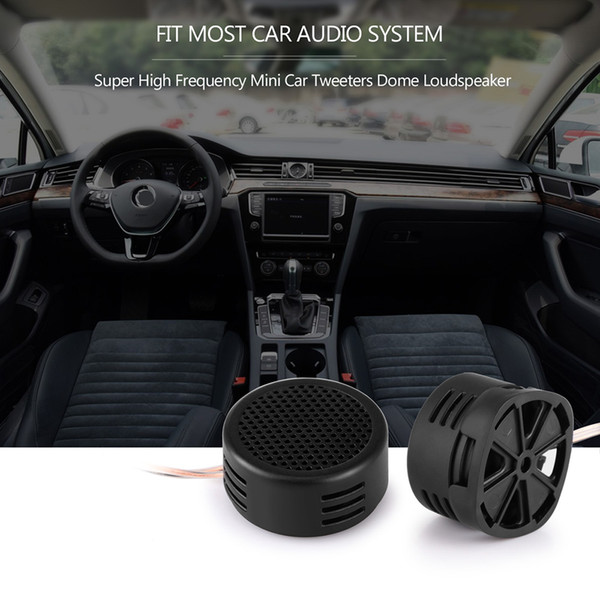 2 Pcs 500W High Frequency Super Power Loud Dome Speaker Tweeter For CAR//TRUCK