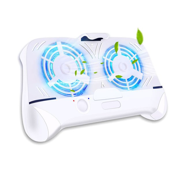 NEW Mobile Phone Pubg Gamepad Multi-functional Phone Cooler Game Controller Two Large Fans for Cooling External Battery Charging