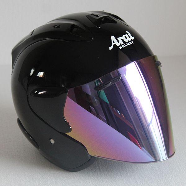 Top hot ARAI 3/4 helmet motorcycle helmet half helmet open face casque motocross SIZE: S M L XL XXL,Capacete