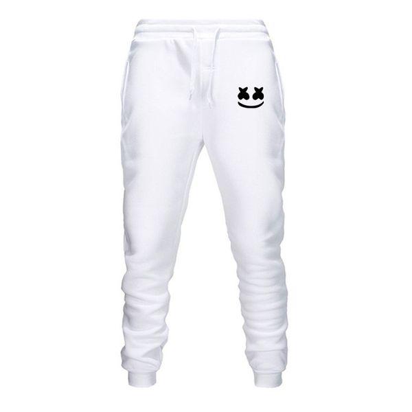 Erkek Koşucular 2019 Marka Erkek Pantolon Erkek Pantolon Günlük Pantolon Hip-Hop Sweatpants Jogger P5 baskı marshmello