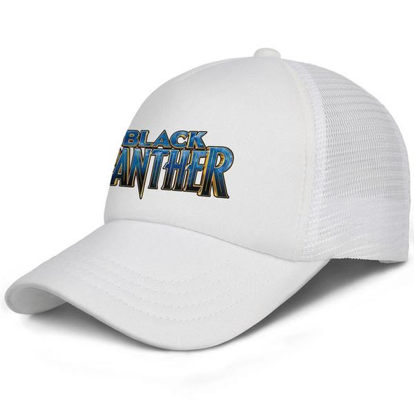COOL Black Panther logo kids baseball caps Casual Teen baseball cap Dad white cap cute baseball caps hats
