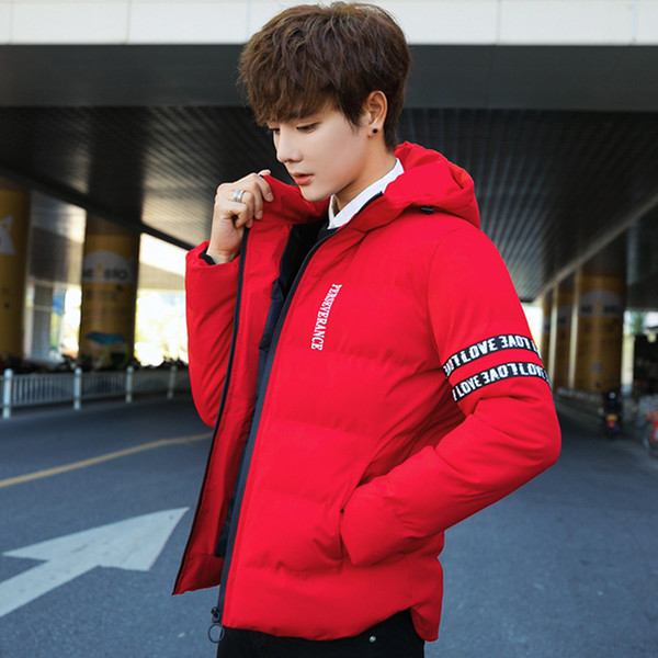 Pop2019 Trend Korean Will Code Men's Wear Clothes Thickening Keep Warm Cotton-padded Jacket Man Cotton Loose Coat