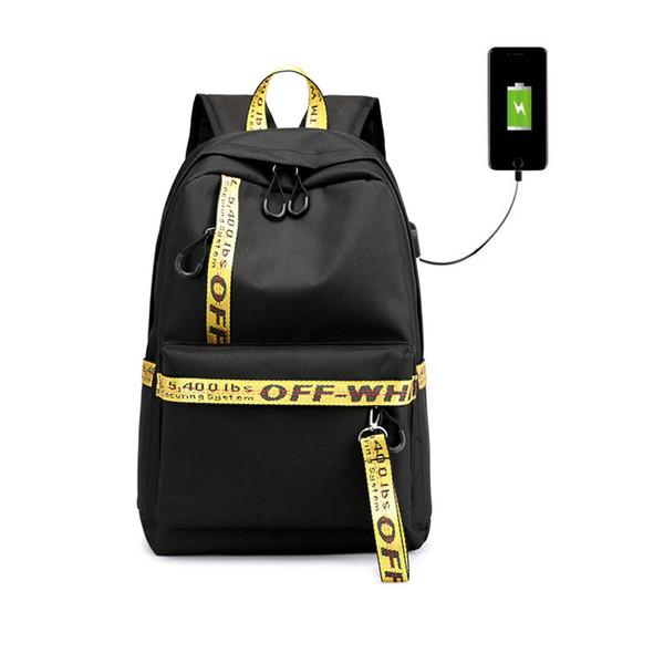 Kids School Sac à dos pour filles Sacs d'école femmes de lettre de sac d'épaule Robbon Sacs à dos pour les adolescentes